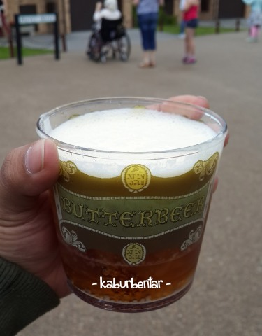 The legendary Butterbeer. Cheers!