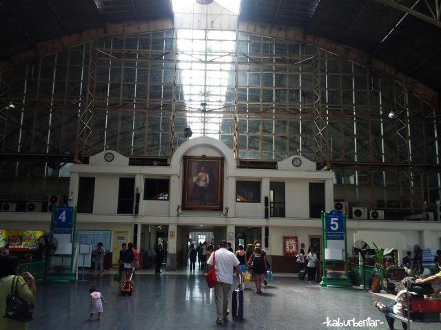 Stasiun Hua Lamphong - Bangkok