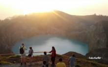 Sunrise di Danau Kelimutu
