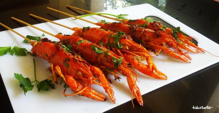 Entah udang entah mini lobster entah spesies apa ini