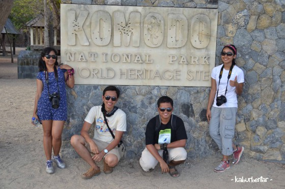 Komodo National Park is a world heritage site!