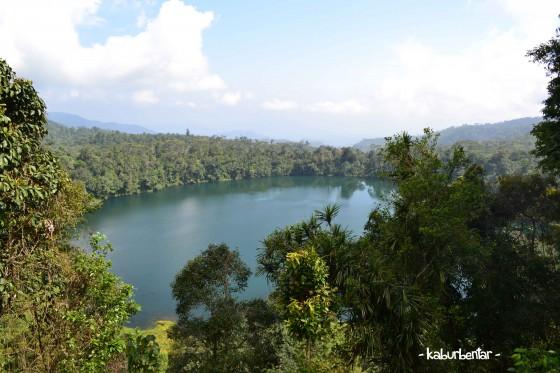 Penampakan Danau Ranamese dari kejauhan