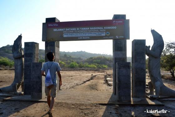 Selamat datang di Loh Buaya a.k.a Pulau Rinca!