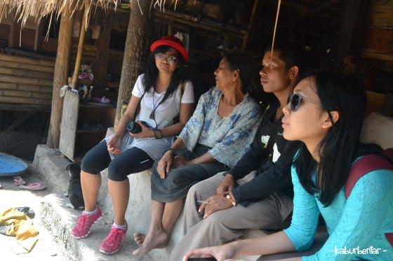 Berbincang dengan Mama, sang pejuang agama Marapu dari kampung Tarung
