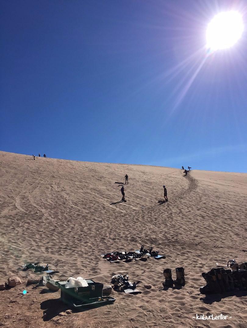 climb the high dune